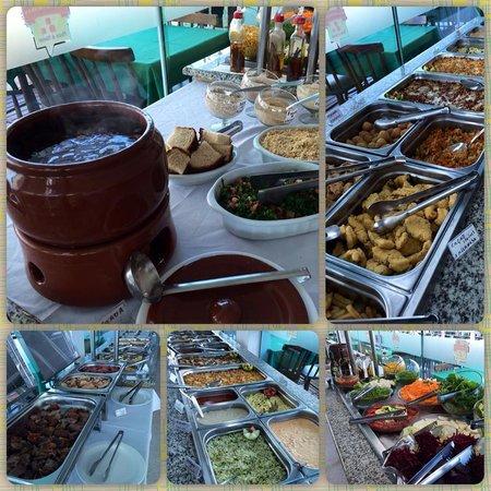 Sol de Bombinhas Premium: Buffet ao meio dia!