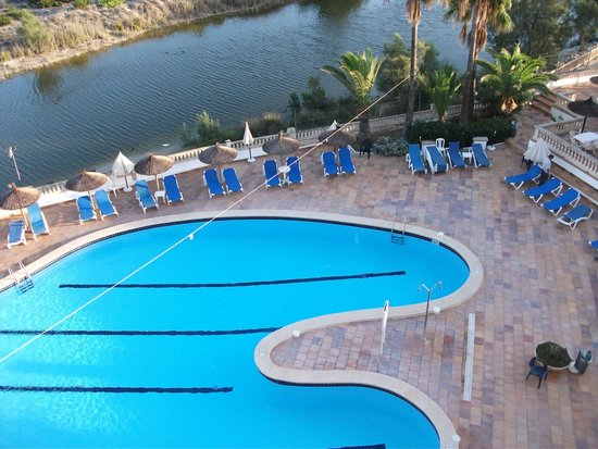 Pool area reserve picture of hotel son baulo ca 39 n picafort tripadvisor for Waltham abbey swimming pool times