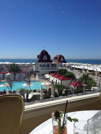 Crown Room at Hotel Del Coronado: Ocean View!