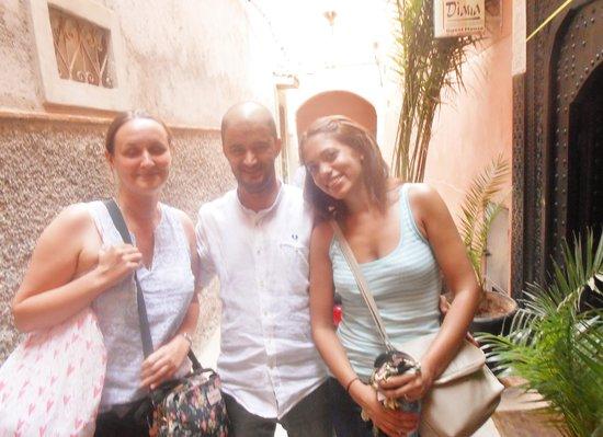 Riad Diana : Me, Gemma and Boujemaa