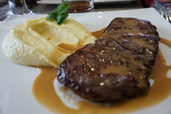 Brunoy, France: filet de boeuf