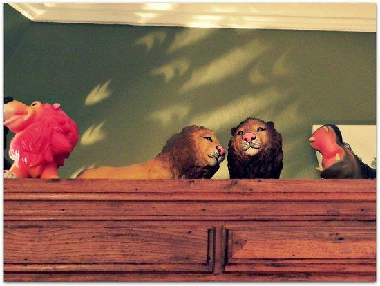 Chambre d'Autres et Suite du Merle Blanc: Lions