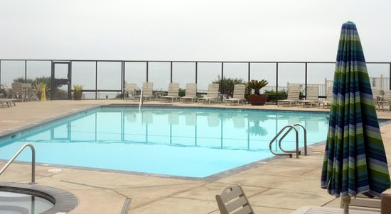S Cliff Hotel Ocean View Swimming Pool Area Best Western Pismo