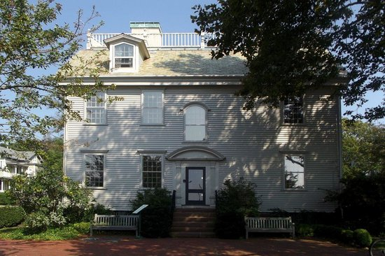 Hunter House: View from the rear