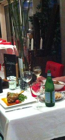 Via Cassia : Наш столик