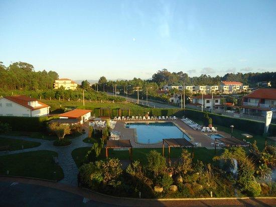 Hotel Spa Galatea: vistas desde el balcón