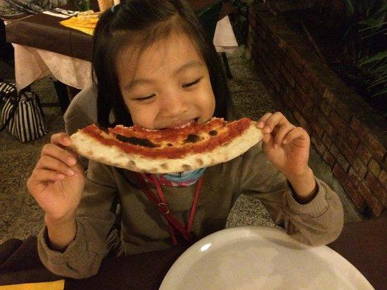 Pizzeria Trattoria all'Anfora : 好吃!