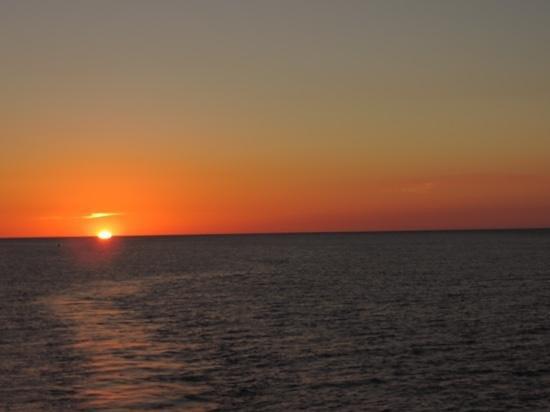 """Jensen's """"On the Gulf"""": Sunset"""