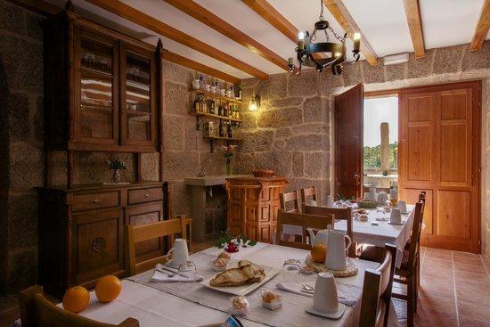 Casa da Solaina: Comedor (desayunos)