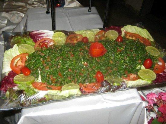 Restaurant Farid: taboulé