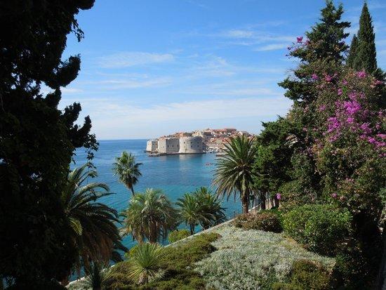 Villa Orsula: View from the Victoria Restaurant Terrace