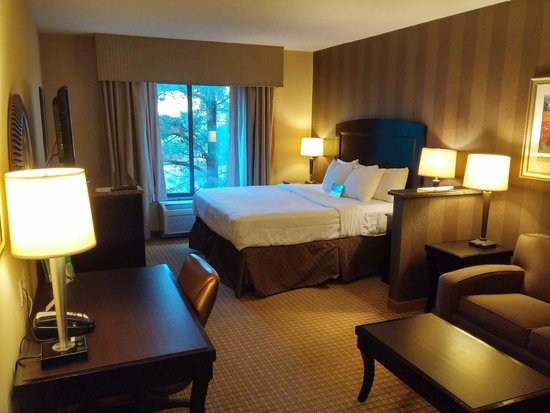 La Quinta Inn & Suites Edgewood / Aberdeen-South : King Suite Bed