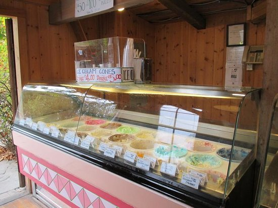 Coombs Ice Cream Parlour: Great Selection