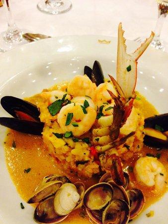 Hotel Riu Guanacaste: Food from the La Tuscana Restaurant