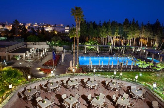 The King David: Hotel's Terrace and Pool