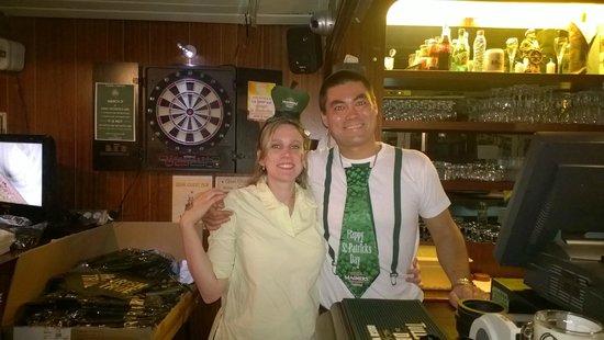 Le Quai Ouest Pub : Saint patrick 2014