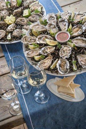 La Sultana Oualidia: Oysters tasting