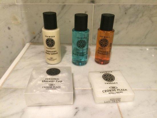 Crowne Plaza Den Haag - Promenade: bathroom soaps
