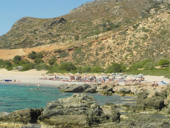 Paleochora, Greece: Gialiskari beach