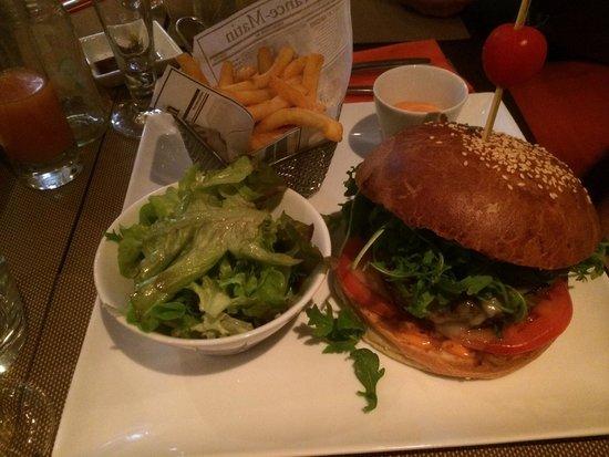 Le Clem's : Hamburguesa