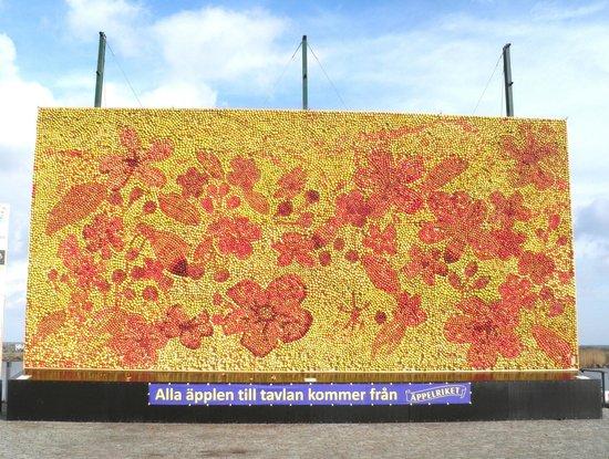 Buhres pa Kivik: Årets äppeltavla i Kivik