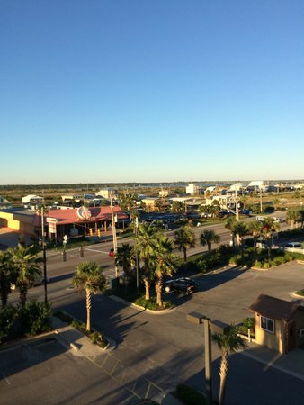 Seawind Condominiums: bay view from 401 balcony