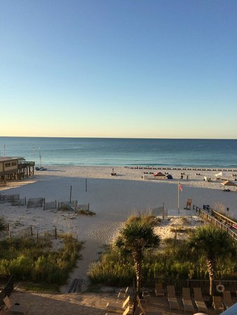 Seawind Condominiums: view from 401 balcony