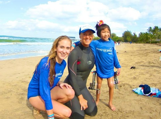Hanalei Beach: Make-A-Wish Surf Camp with Bethany Hamilton