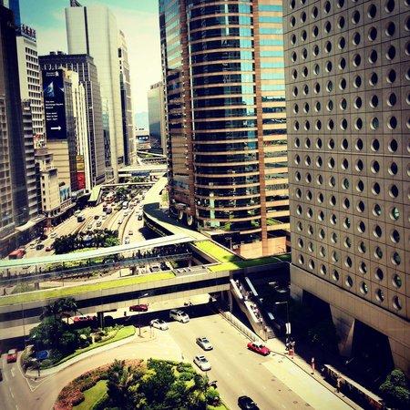 Mandarin Oriental, Hong Kong: Vista desde mi habitación en mandarín oriental hotel ���� hermoso Hong Kong