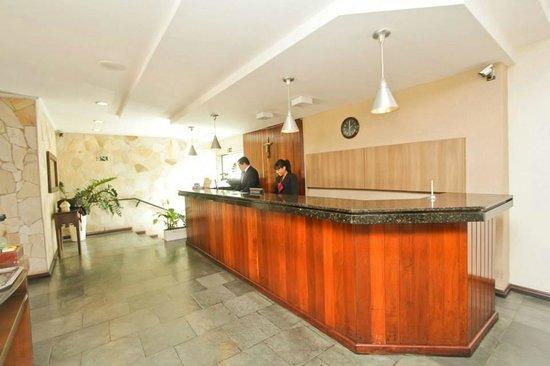 Hotel Cidade: Recepção