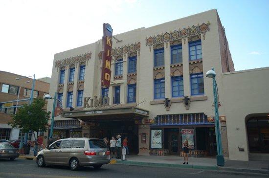 KiMo Theatre : la facciata