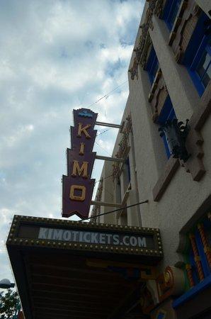KiMo Theatre : l'insegna