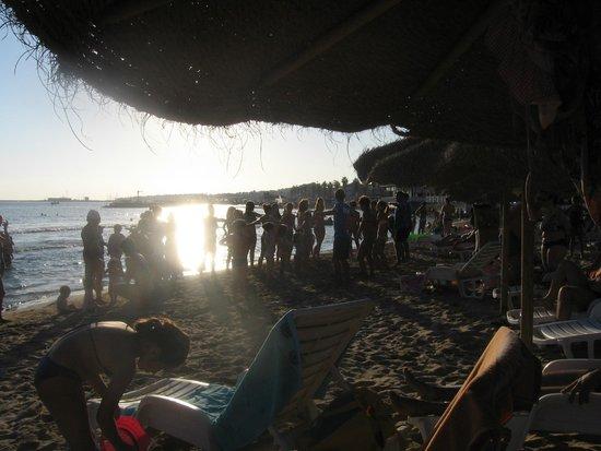 Baia del Sole Villaggio: animazione in spiaggia