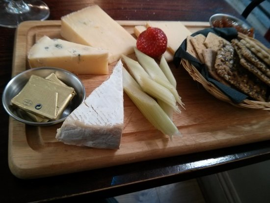The Chancel: an amazing cheese board