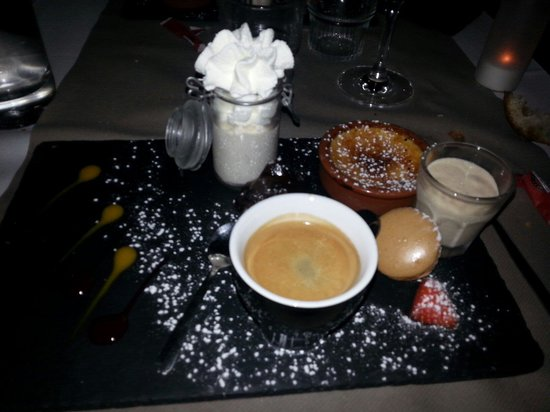 Brasserie La Cantine de Deauville: Café gourmand