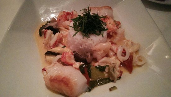 Restaurant Gary Danko : Seafood curry