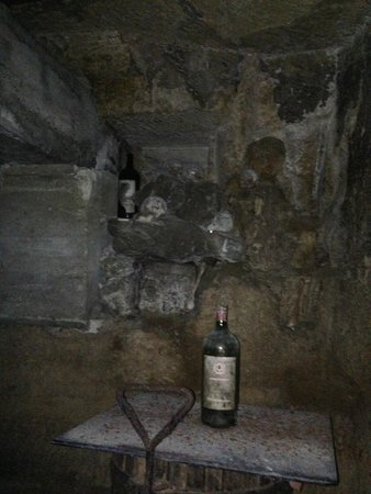 Creepy Catacombs Wine Cellars At Chateau Beau S 233 Jour B 233 Cot