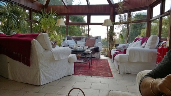 Tyn Rhos Country House: Conservatory