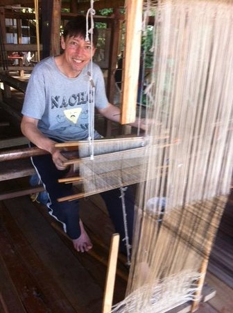 Mekong Villa by Ock Pop Tok: Weaving Course
