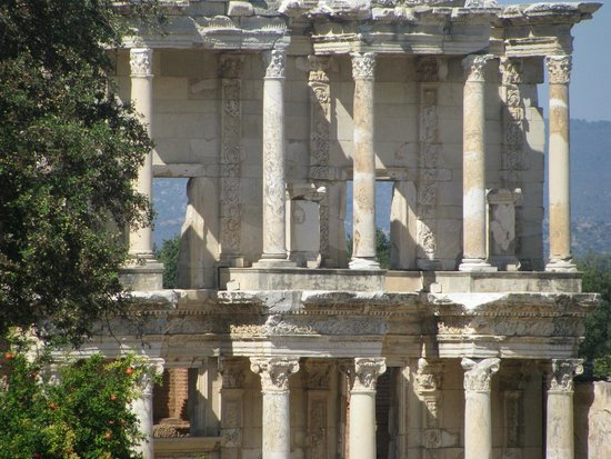 Celsus Travel: The library at Ephesus