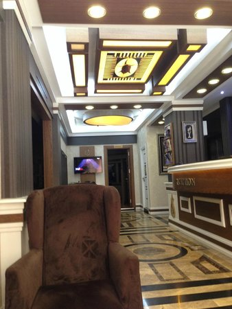 Hotel Black Tulip: Lobby