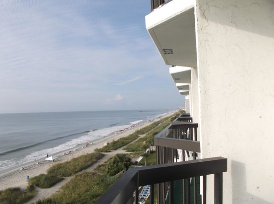 The Reef Myrtle Beach: from the balcony