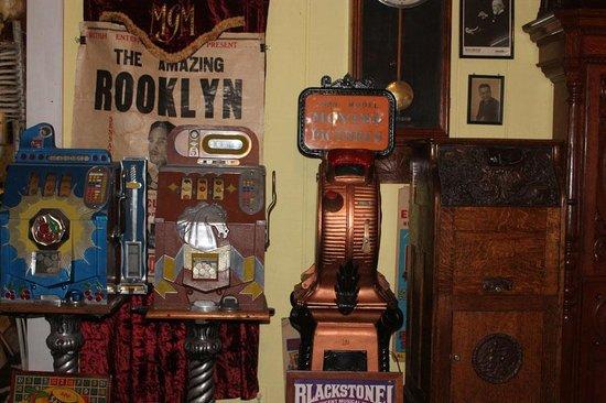 Art In Motion Vintage Motorcycle Museum: Late 1800's movie machines