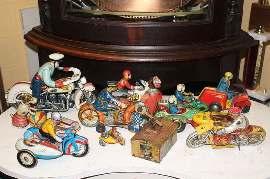 Art In Motion Vintage Motorcycle Museum: Intersting toys