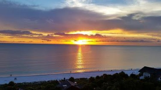 The Ritz-Carlton, Naples: Sunset from our balcony