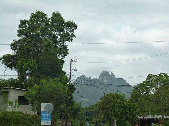 Altos De Campana National Park: view as you arrive to the hiking site