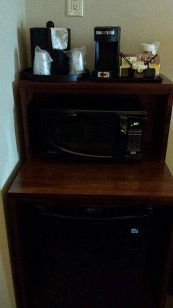 Comfort Suites Saskatoon: Mini fridge and microwave
