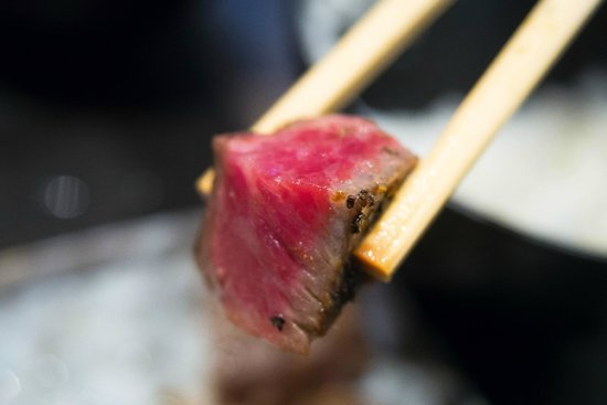 Steak House Satou : Medium rare