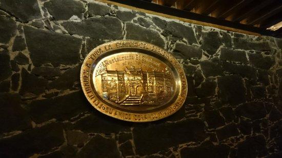 Restaurante El Cardenal: Placa