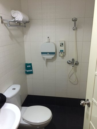 Shower / Bathroom all in one. - Picture of Hotel 81 - Sakura ...